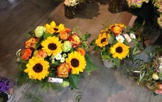 Sonnenblumen Strauss Unterseen Interlaken